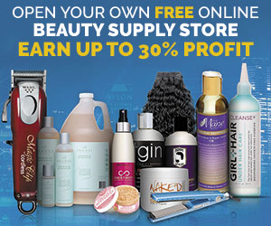 Free Online Beauty Supply Store banner